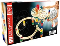 Hape Quadrilla houten knikkerbaan set The Cyclone-2