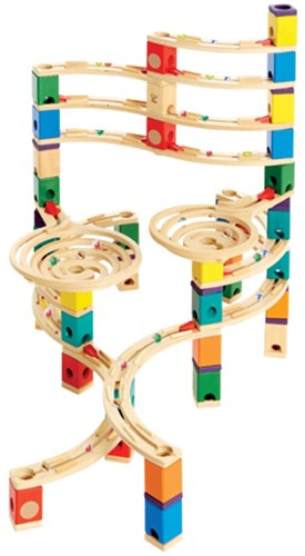Hape Quadrilla houten knikkerbaan set The Cyclone-1