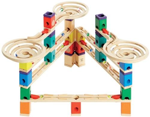 Hape Quadrilla houten knikkerbaan set Vertigo-3