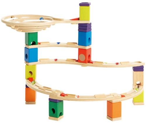 Hape Quadrilla houten knikkerbaan set Whirlpool-3