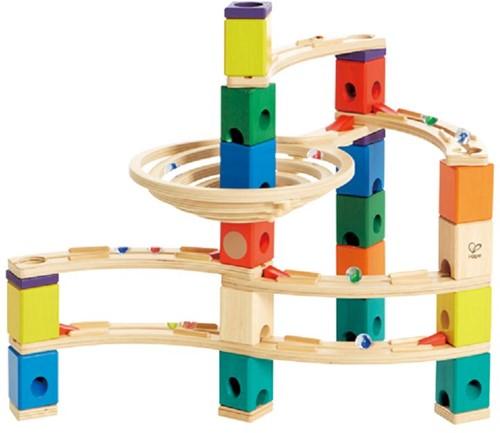 Hape Quadrilla houten knikkerbaan set Whirlpool-1