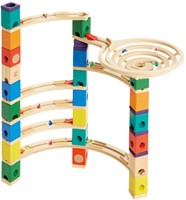 Hape Quadrilla houten knikkerbaan set Xcellerator-3