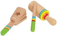 Hape houten muziekinstrument Ritmeset