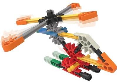 KNEX BUILDING SETS - HELICOPTER BUILDING SET