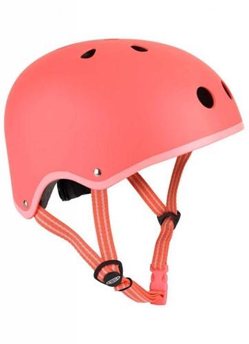 Micro step Helm mat Koraalroze - maat M