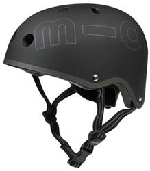 Micro  loopfiets accesoires Helm Zwart - Maat S