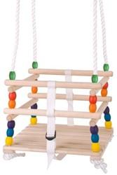BigJigs  houten buitenspeelgoed kinderschommel