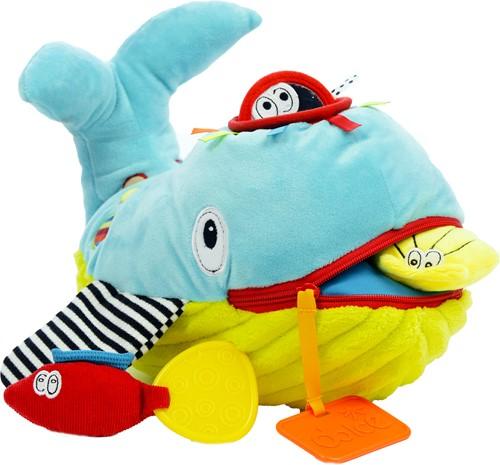 Dolce Toys activiteitenknuffel Walvis