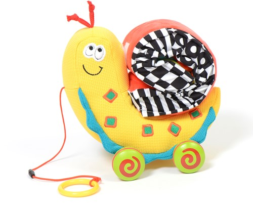 Dolce Toys pull along color snail