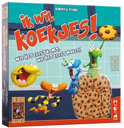 999 Games spel Ik wil koekjes!
