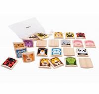 Plan Toys  houten kinderspel Animal Memory