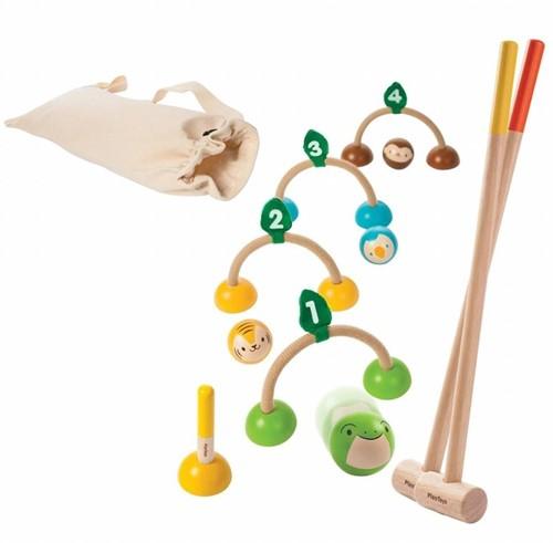 Plan Toys houten buitenspel Croquet 5189