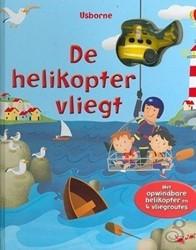 Usborne  voorleesboek Boek de Helikopter vliegt