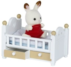 Sylvanian Families  combinatieset Chocolate Rabbit Baby Set 2205