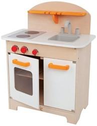 Hape houten keukentje Gourmet wit