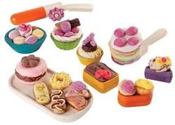 Plan Toys  houten boetseerset Pastry dough set