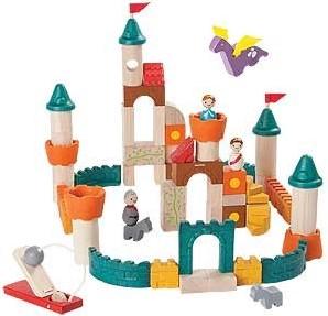 Plan Toys  houten bouwblokken Fantasy blocks