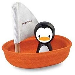 Plan Toys  houten badspeelgoed Sailing Boat Penguin
