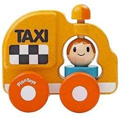 Plan Toys houten speelvoertuig Taxi