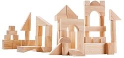 Plan Toys  houten bouwblokken 50 houten blokken