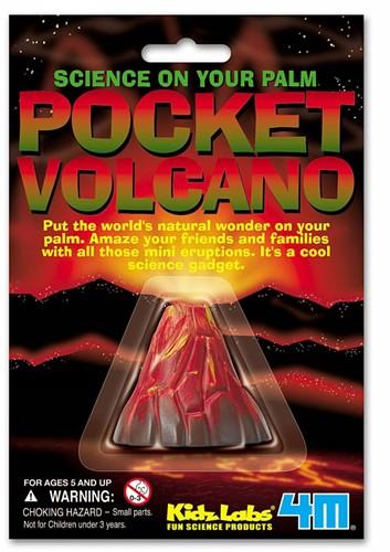 4M  Kidz Labs wetenschap speelgoed Pocket Volcano