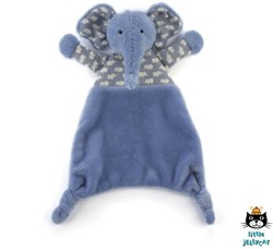 Jellycat Indigo Elly Soother - 23 CM