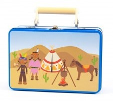 Simply  kleinspeelgoed Fantasie indianen koffer