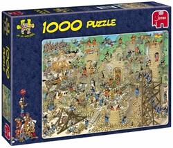 Jumbo  Jan van Haasteren legpuzzel Middeleeuwen 1000 stuks