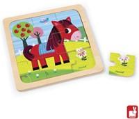 Janod  houten legpuzzel Puzzel paard-1