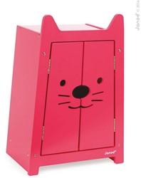 Janod  poppen meubel Babycat kast