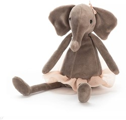 Jellycat knuffel Dancing Darcey Elephant Small -23cm