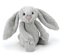 Jellycat  Bashful Silver Bunny Small - 18 cm
