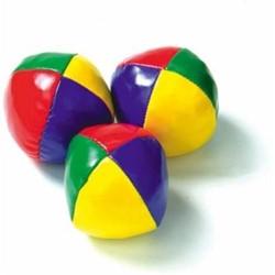 Longfield Games kleinspeelgoed Jongleerballen in koker 3x