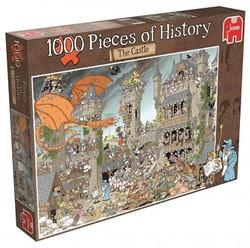 Jumbo  Pcs of History The Castle - 1000 stukjes