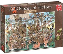 Jumbo  Pcs of History The Pirates - 1000 stukjes
