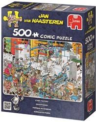 Jumbo  Jan van Haasteren legpuzzel Zeebanket  - 500 stukjes