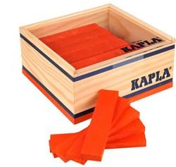 Kapla  houten bouwplankjes 40 oranje
