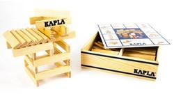 Kapla  houten bouwplankjes 100 blank