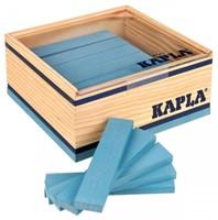 Kapla  houten bouwplankjes 40 lichtblauw