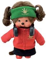 Monchhichi  knuffelpop kleren Boutique B DJ Style Rood-3