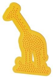 Ses  strijkkralen bord giraffe