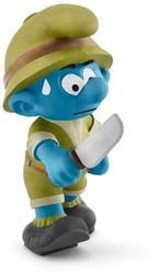 Schleich The Smurfs - Junglesmurf Avonturier 20782