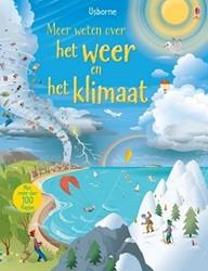 Usborne  educatieboek Meer weten over weer & klimaat