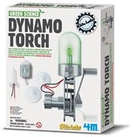 4M  Green Science wetenschapsdoos Dynamo lamp