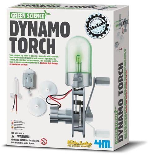 4M  Green Science wetenschapsdoos Dynamo lamp-1