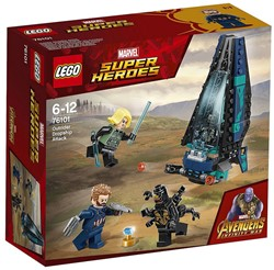 LEGO Super Heroes Outrider shuttle aanval 76101