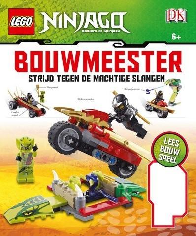 Lego  Ninjago boek set Strijd tegen de machtige slangen
