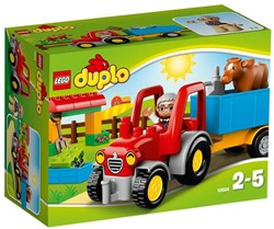 Lego  Duplo set Landbouwtractor 10524