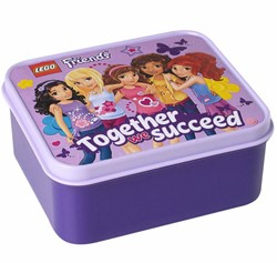 LEGO Friends Lunchbox: Paars