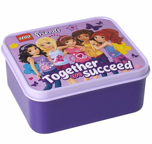 LEGO Friends Lunchbox - Paars
